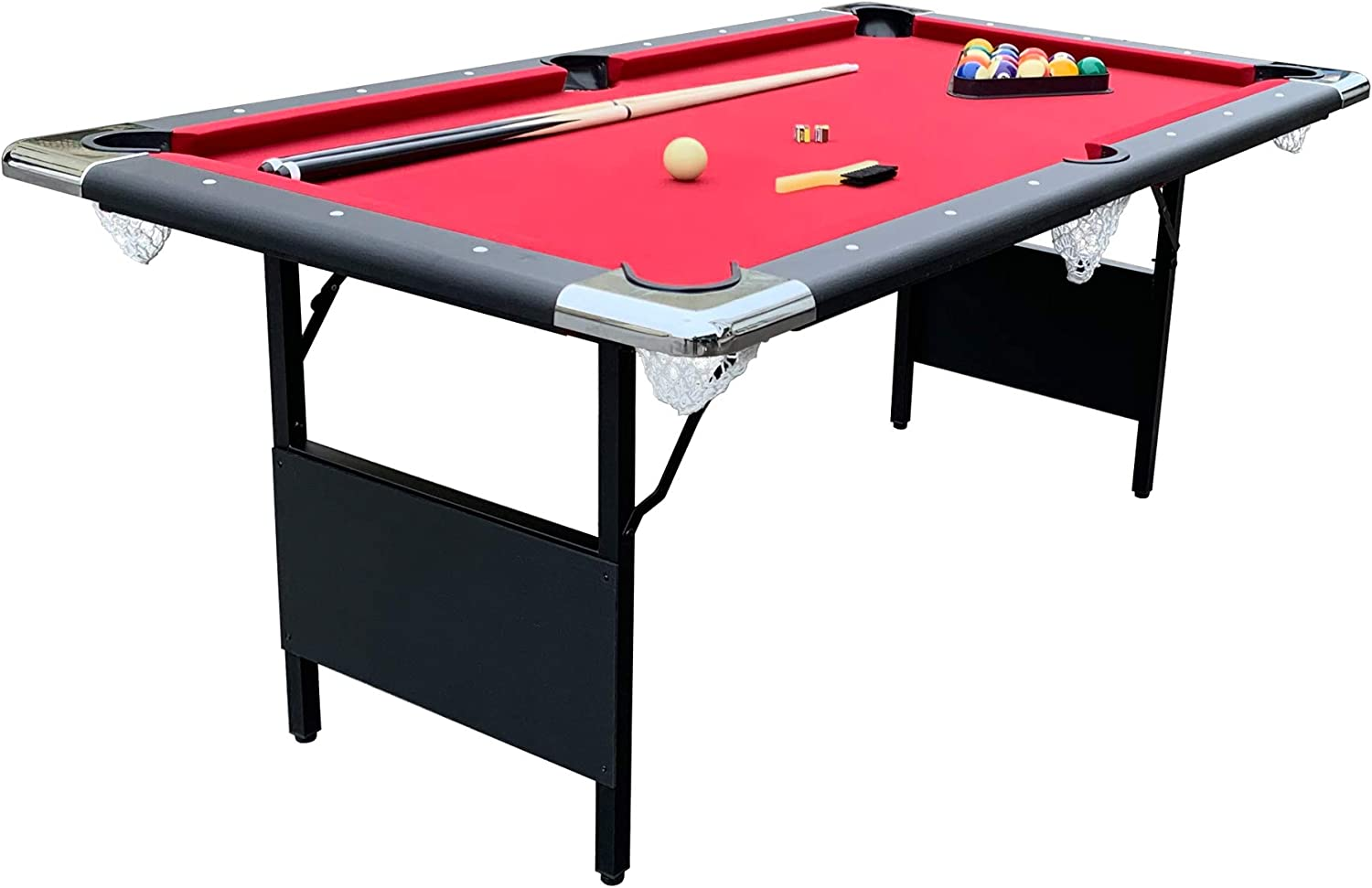Hathaway Fairmont Portable Pool Table 6-Ft