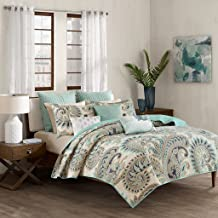 Ink+Ivy Mira Coverlet Mini Set Cal King Blue, King/California King,