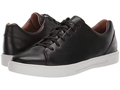 Clarks Un Costa Lace (Black Leather) Men