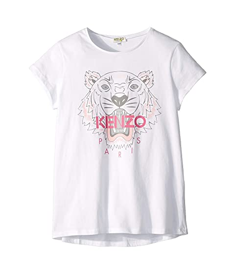 Kenzo Kids Tiger Graphic Tee (Big Kids)