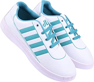 Shoefly-9018 White Exclusive Range of Loafers Sneakers Shoes for Women