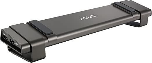 ASUS USB3.0_HZ-3B Docking Universal Laptop Docking Station, Black