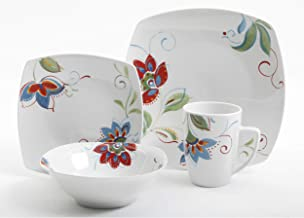 GIBSON Altavista 16 pc Dinnerware Set, Decorated
