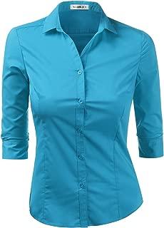 Best turquoise dress shirt womens Reviews