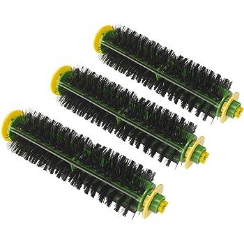 iRobot Roomba Pet Bristle Brush//w bearing and end caps