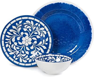 Amazon.com | Noritake Austin Platinum 50-Piece Dinnerware