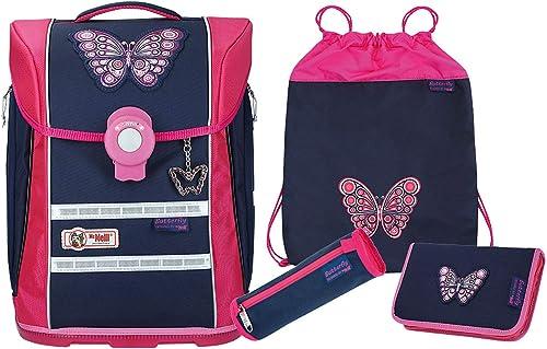 McNeill Schultaschen Sets Ergo Primero 4-TLG. Butterfly