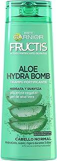 Garnier Fructis Aloe Hydra Bomb Champú - 3 Recipientes de 360 ml - Total: 1080 ml