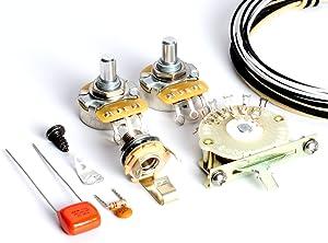 ToneShaper Guitar Wiring Kit, For Fender Telecaster, SS3 (4-Way ToneShaper Wiring)