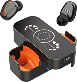 Auriculares Inalámbricos Bluetooth, Verdaderos Deportivos Bluetooth con Micrófono, Estéreo de Alta Definición, Reducción d...