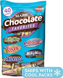 MARS Chocolate Minis Size Candy Variety Mix 40-Ounce Bag