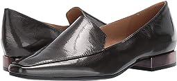 Gunmetal Crinkle Leather
