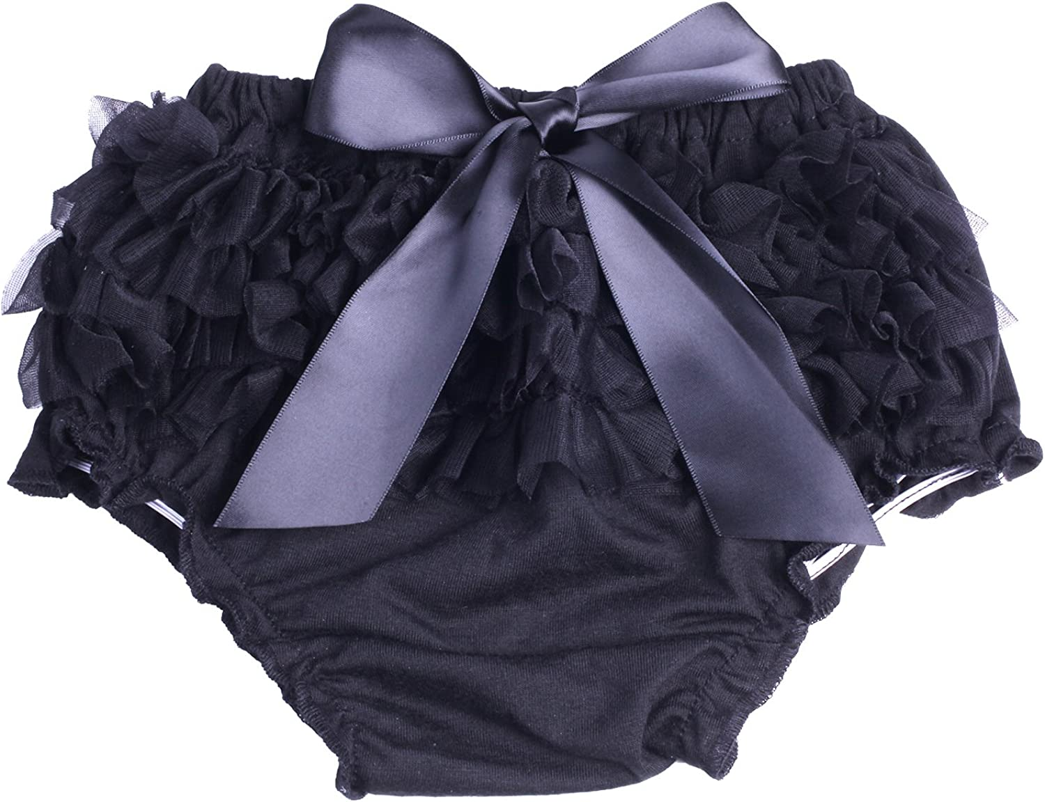 ICObuty Baby Girls Ruffle Bloomer Diaper Cover for Baby Girls Toddlers