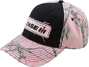 Case IH Ladies Pink Camo & Black Cap - Officially Licensed