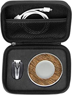 WGear Feature Designed Semi-Hard Case for Spire Mindfulness and Activity Tracker with Customized Inlay and mesh Pocket Bal...