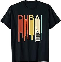 Retro Dubai Skyline City Vintage United Arab Emirates UAE T-Shirt