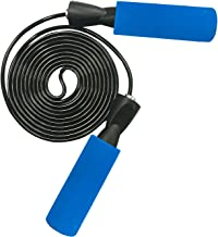 YZLSPORTS Adjustable Jump Rope with Carrying Pouch by Fitness Factor | Ergonomic, Durable, and Easy to Adjust | Premium Jump Rope for Men, Women, and Children of All Heights and Skill Levels