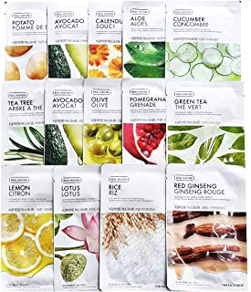 The Face Shop Real Nature Mask Sheet 30pc VALUE SET Daily Mask Made in Korea