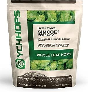 Simcoe Leaf Hops - 1 POUND