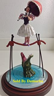 Haunted Mansion Ballet Girl Figure Disney Girl on the Tightrope Figure