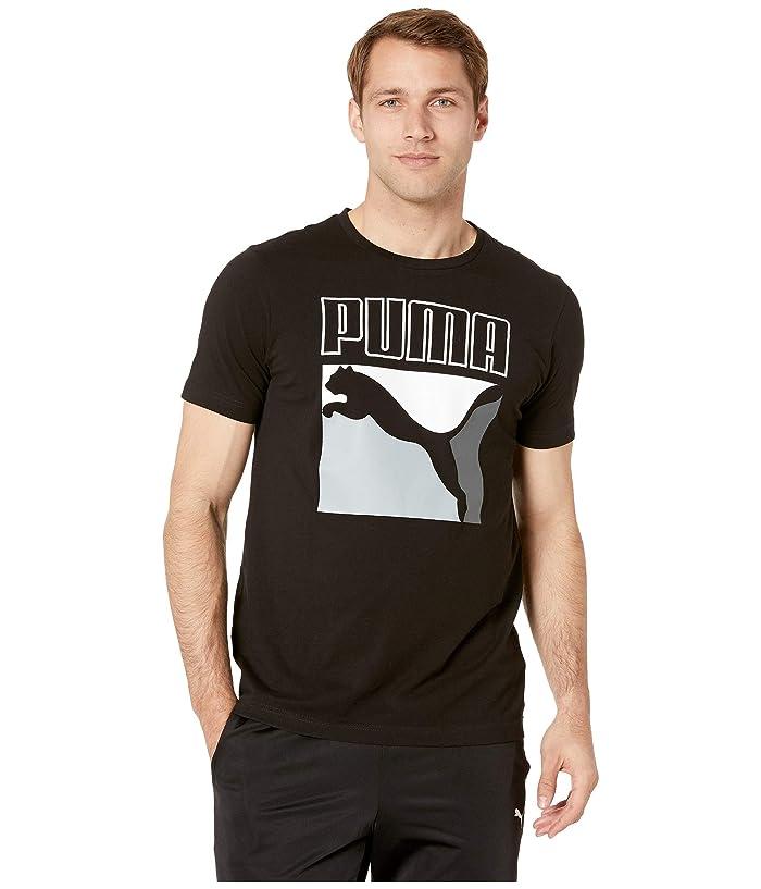 PUMA Classics Box Logo Tee (PUMA Black) Men