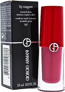 Giorgio Armani Lip Magnet S-skin Intense Matte, 507 Garconne, 0.13 Ounce