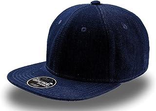 ba2dc43f69 Atlantis Snap Eco Leather Noir Casquette Snapback The Original Slang  Rappeur Hip hop Trendy Snap Back