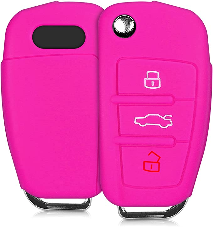Kwmobile Autoschlüssel Hülle Kompatibel Mit Audi Elektronik
