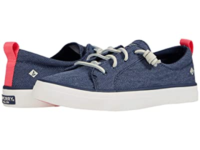 Sperry Crest Vibe Washed Twill (Navy) Women