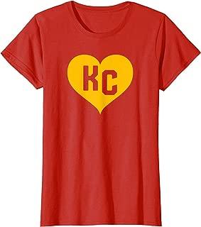 Best kc heart shirt Reviews