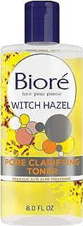 Biore Witch Hazel Clarifying Toner, 8 Ounce