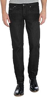 ETHANOL Mens Slim Hyper Stretch Motion Denim Five Pocket Jean
