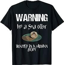Cute Sea Otter Halloween Shirt Easy Lazy Costume Gag Party T-Shirt
