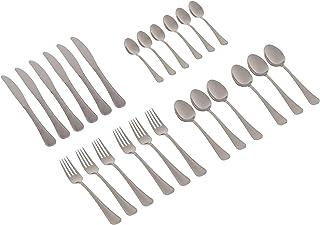 طقم 24 قطعة من نوفال، 6 ملاعق للمائدة - 6 ملاعق للشاى - 6 شوك - 6 سكينة