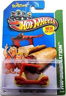 2013 Hot Wheels Hw Imagination - Flintstones Flintmobile