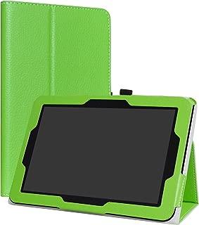 Verizon Ellipsis 10 Case,LiuShan PU Leather Slim Folding Stand Cover 10