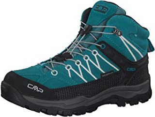 CMP Kids Rigel Mid Trekking Shoe WP, Scarpe da Trekking Alta Unisex-Bambini