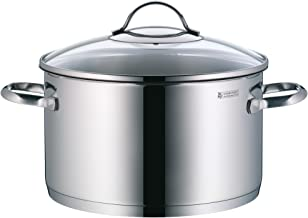 WMF 07-2224-6380 Provence Plus High Casserole 24Cm W/Cover, Stainless Steel, 1kg