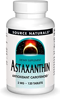 SOURCE NATURALS Astaxanthin 2 Mg Tablet, 120 Count