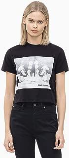 Calvin Klein Jeans Women's Cropped Cali Landscape Tee