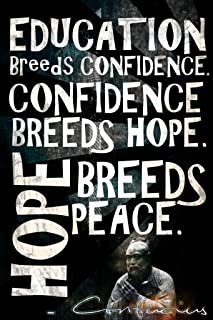 Keen Education Breeds Confidence Classroom Wall Poster Art Print|12 X 18 in Poster|KCP43