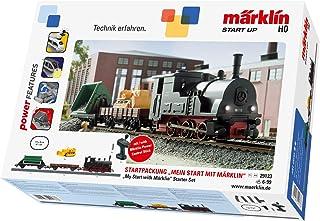 Märklin Start Up 29133 Up Märklin startpaket modelljärnväg startsats, för barn från 6 år, 3-delad tåg med ljus, spår H0