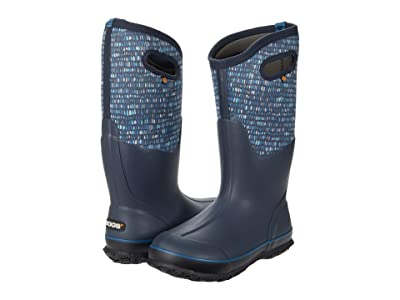 Bogs Classic Tall Twinkle (Dark Blue Multi) Women