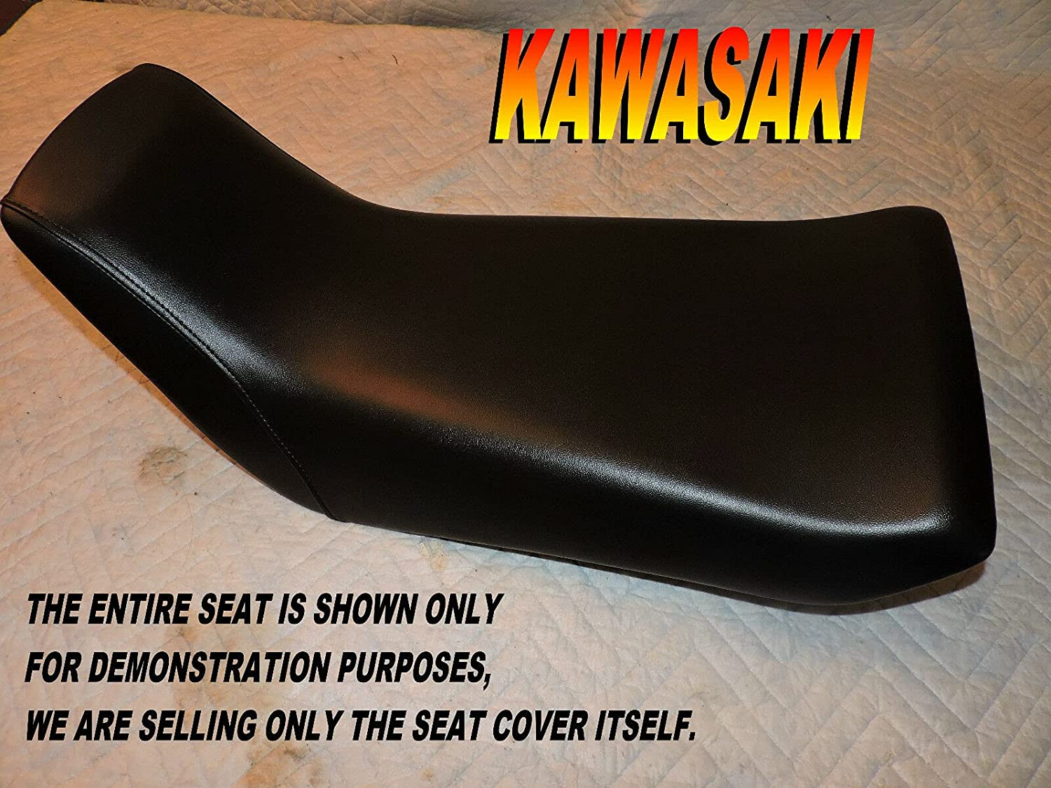New Over item handling Replacement seat cover fits Kawasaki Bayou 220 250 K mart 1988-11