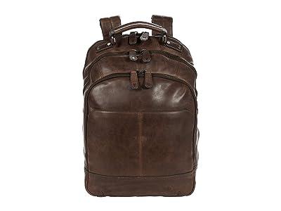Frye Logan Zip Backpack (Slate) Backpack Bags