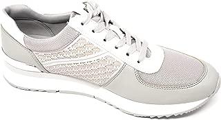 Michael Kors Mesh Allie Trainer Sneaker,Aluminum/Grey