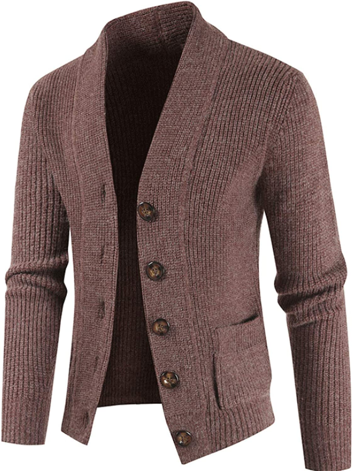 Men's Knitwear Cardigan Autumn and Winter Casual Single-Breasted Lapel