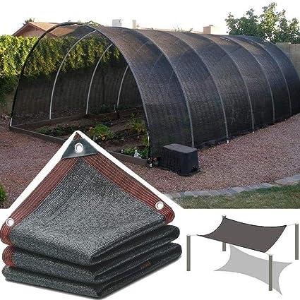 HWF Sombra Solar Malla Cubierta de Sombra de Invernadero ...