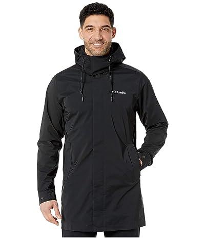Columbia East Parktm Mackintosh Jacket (Black) Men