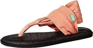 Sanuk Women's Yoga Sling 2 Carnelian Yoga Mat Sandal Flip-Flop
